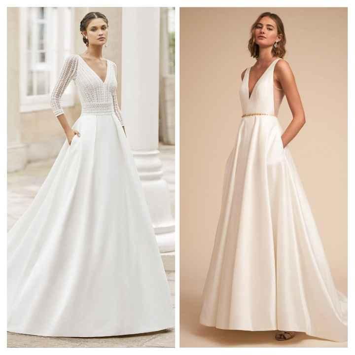 ¿Vestido de novia con bolsillos? - 2
