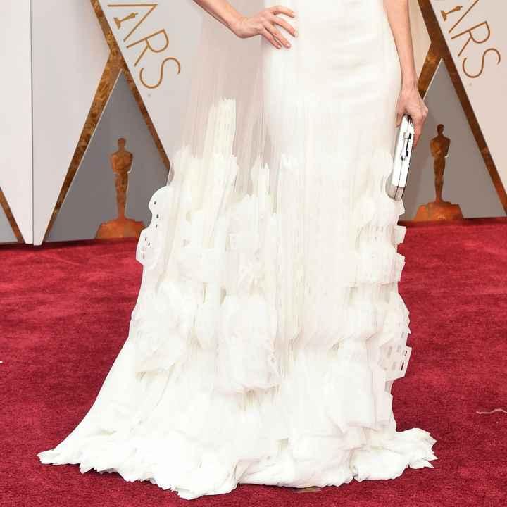 Vestidos blancos de alfombra roja: Hollywood edition 7
