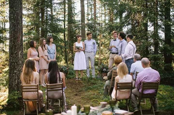 ¿Tendréis una boda con cero protocolos? - 1