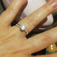 ¡Comparte una foto de tu anillo de compromiso! 😍💍 - 1