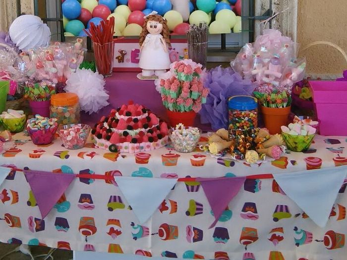 Mesa de chuches manualidades foro for Mesa de chuches comunion nina