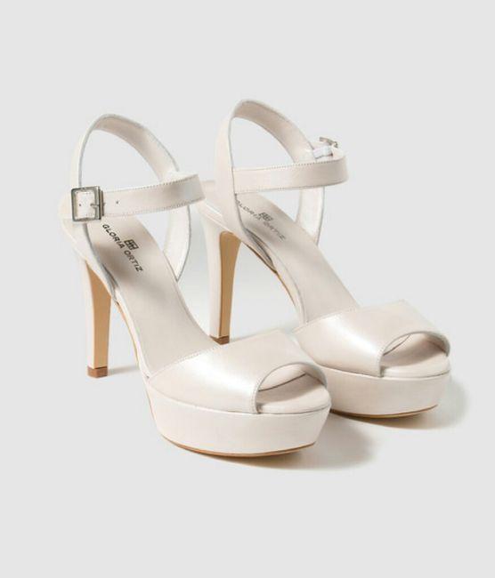 mis chollo de zapatos de gloria ortiz - moda nupcial - foro bodas
