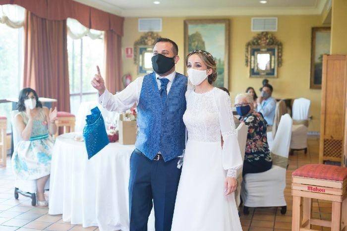 Novi@s que os habéis casado durante el Covid-19: ¡Dejad aquí vuestros consejos! 😍👇 8