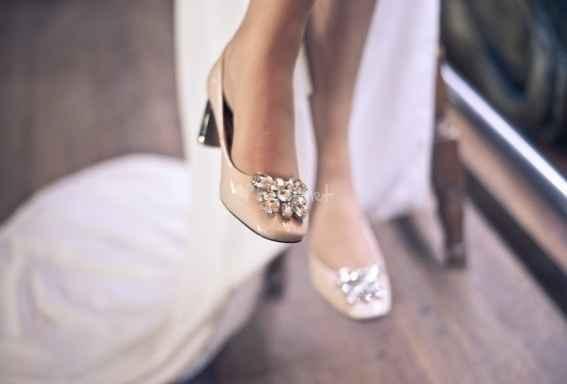 Zapatos nude planos o semiplanos invierno - 1