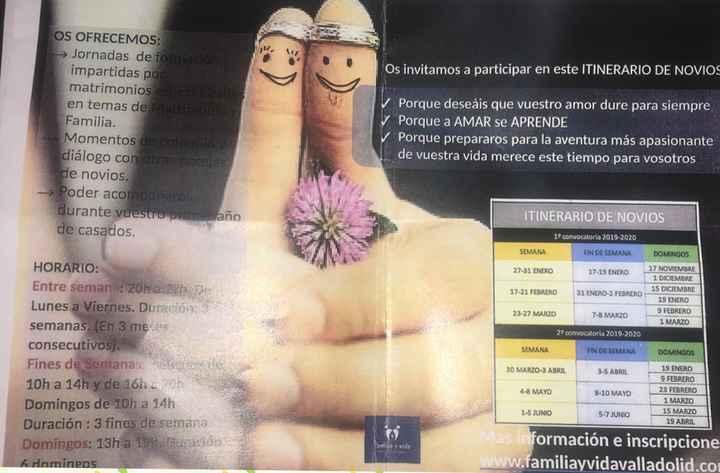 Cursillos prematrimoniales - 1