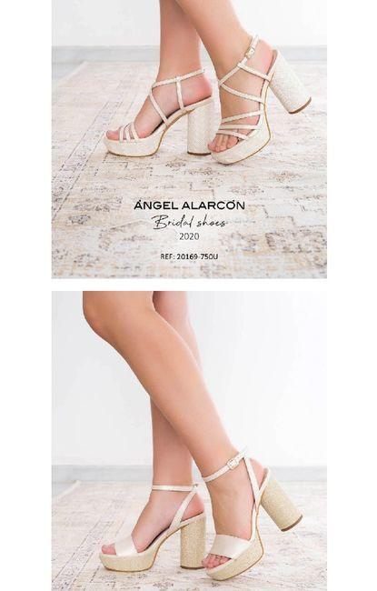 Zapatos novia ángel Alarcón - 5
