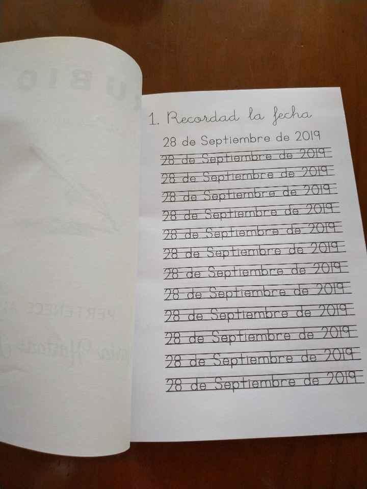 Cuaderno rubio testigo - 1