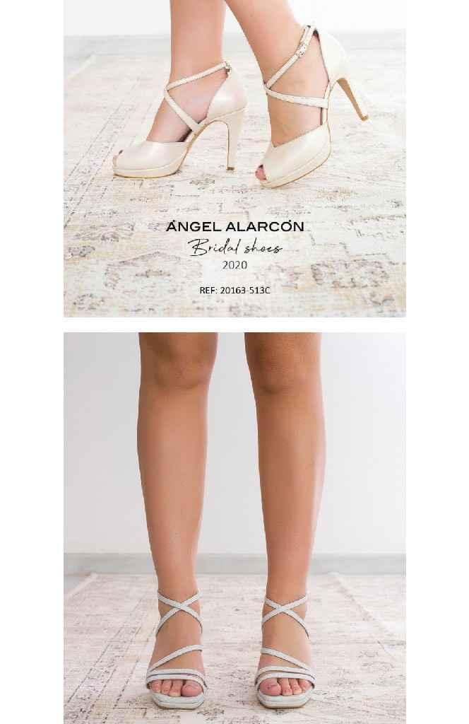 Zapatos novia ángel Alarcón - 7