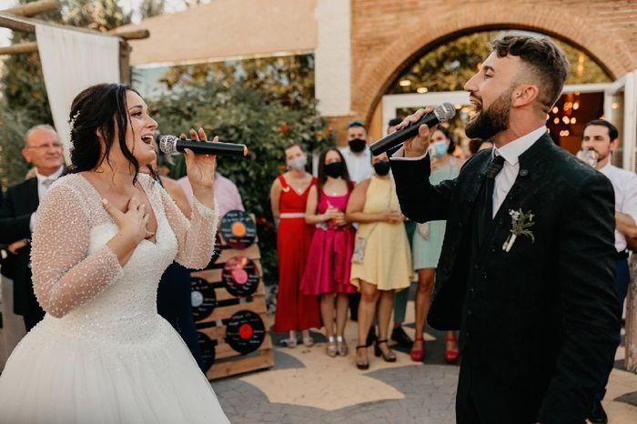 Si fueras cantante, ¿actuarías en tu boda? 2