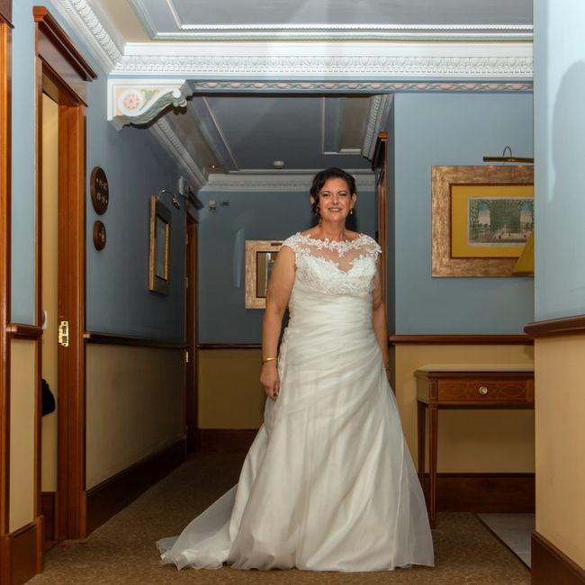 Duelo de vestidos: liso o con encaje? 2