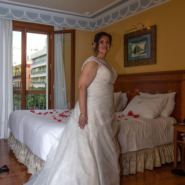 Duelo de vestidos: corte princesa o sirena? 2