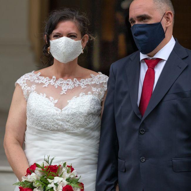 Finalmente casados en los tiempos de Covid!! 1