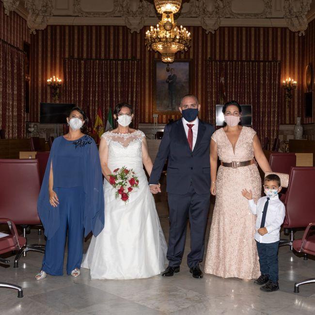 Finalmente casados en los tiempos de Covid!! 2
