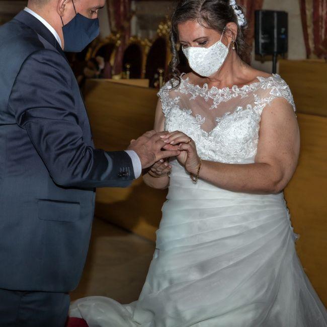 Finalmente casados en los tiempos de Covid!! 3
