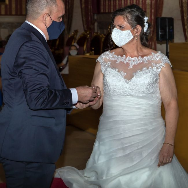 Finalmente casados en los tiempos de Covid!! 4