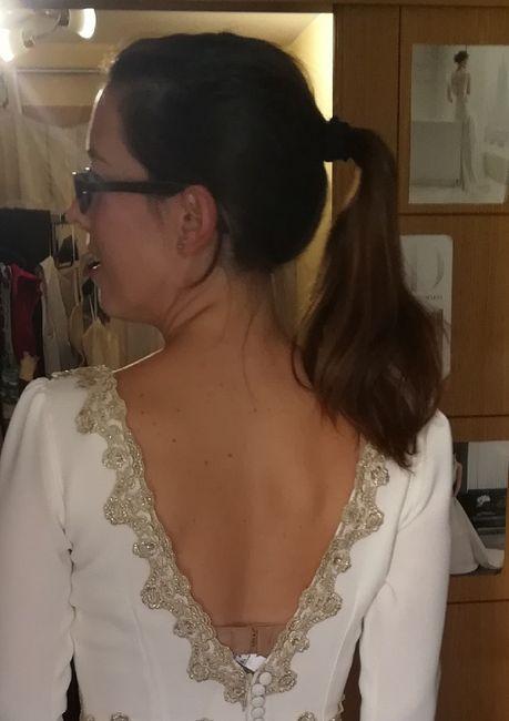 Qué peinado podríais con esta espalda? - 1