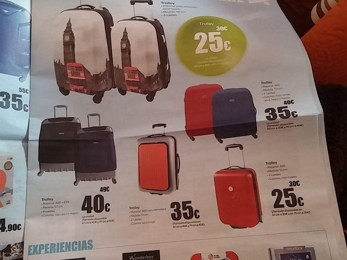 Donde comprais la maleta que no se factura luna de miel - Maleta viaje carrefour ...