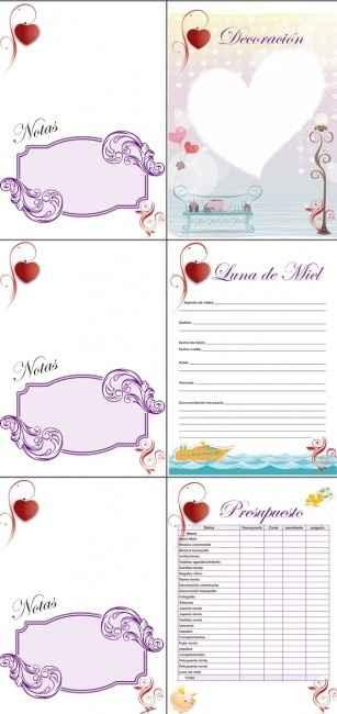 quinta parte de la agenda de boda