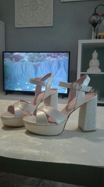 ya tengo mis zapatos angel Alarcon!¡! 1