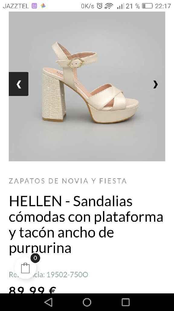 Me enseñais vuestros zapatos? - 1