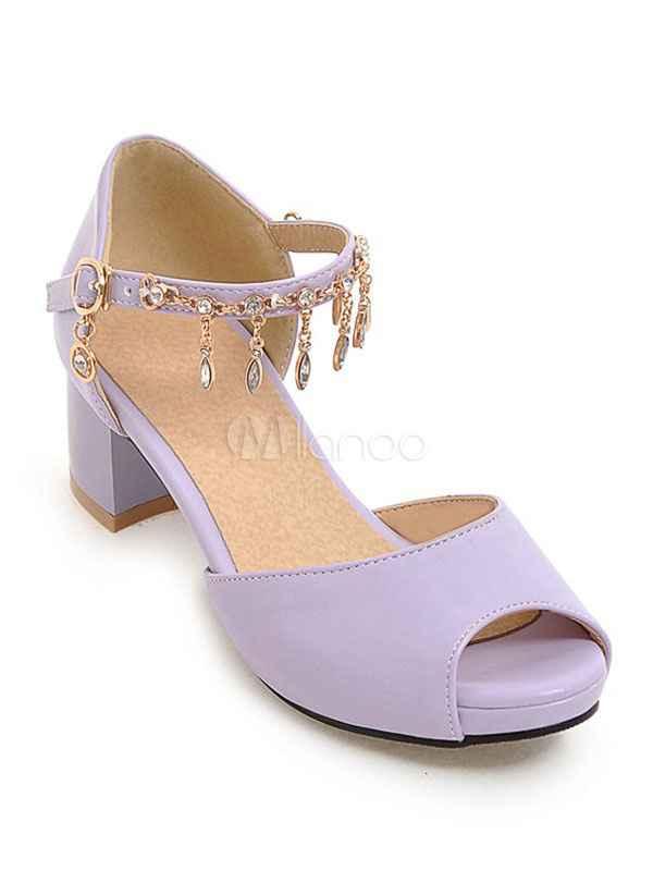 Zapatos lila - 1