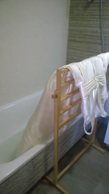 asi limpié mi vestido en la bañera - recién casad@s - foro bodas