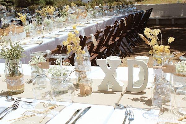 Decoracion Letras Boda ~ decoracion letras y botes  Fotos bodas net