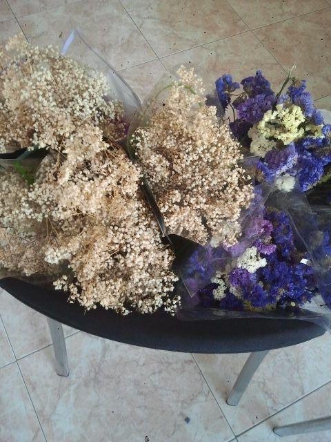 Utilidad flores siempre vivas para ahorrar en decoracion - Adornos flores secas ...
