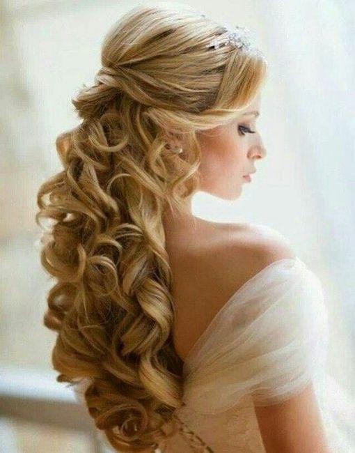 peinado para vestido con espalda escote en v - belleza - foro bodas