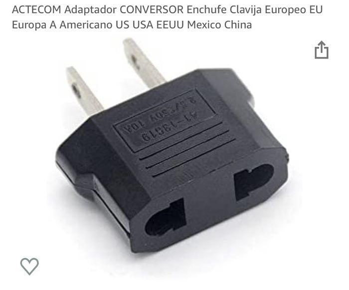 Adaptador enchufe Riviera Maya - 1