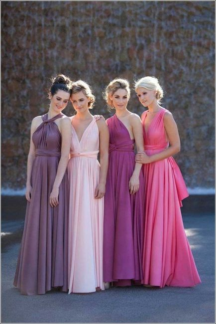 Dorable Damas De Honor Vestido Festooning - Ideas de Vestidos de ...