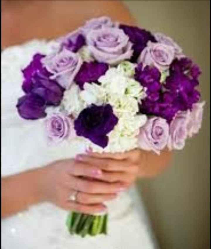 Flores para el ramo de novia - 1