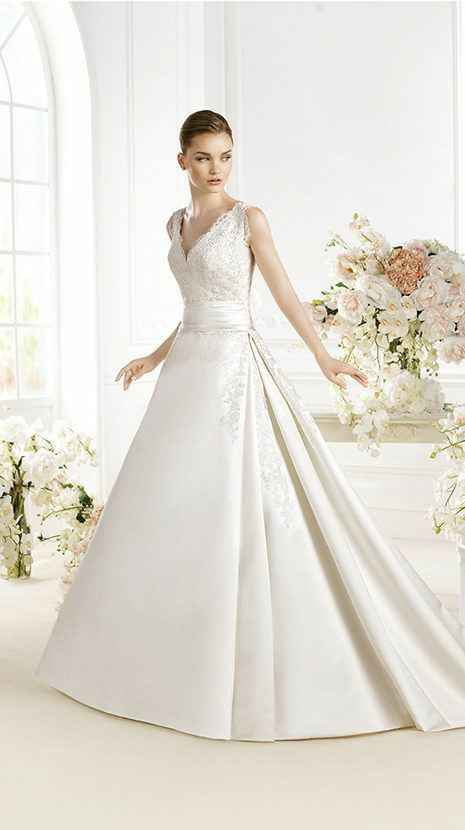 ¿cual es vuestro vestido de novia? - 1