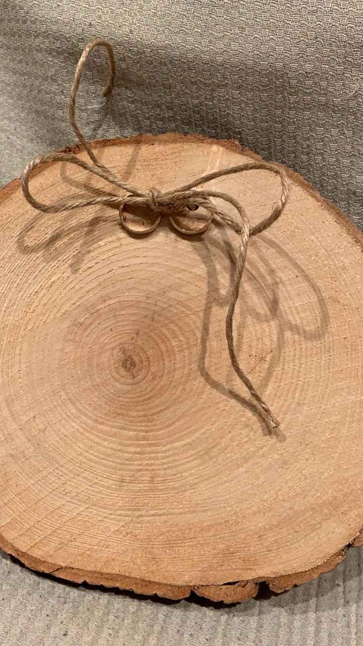 Portalianzas de madera - 1