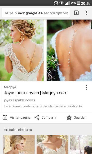 8d49e705011f Collar espalda para novia - Moda nupcial - Foro Bodas.net