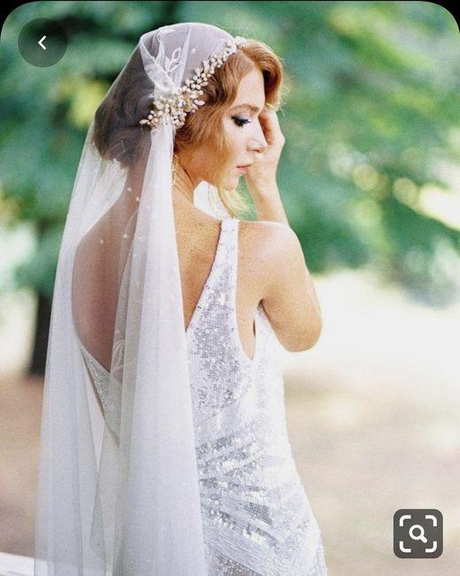 Velo de novia para ceremonia en la playa - 2