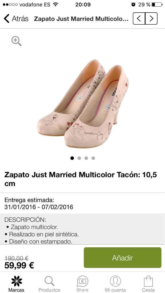 Zapatos originales. - 1