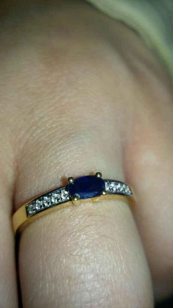 Mi anillo de pedida :) - 1