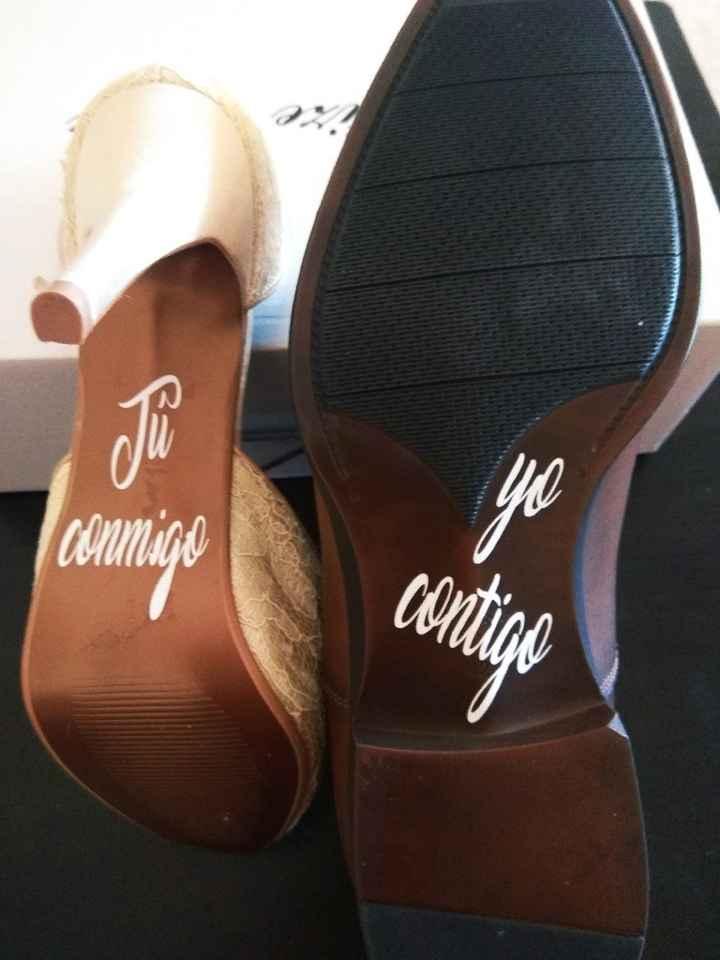 Vinilos zapatos - 1