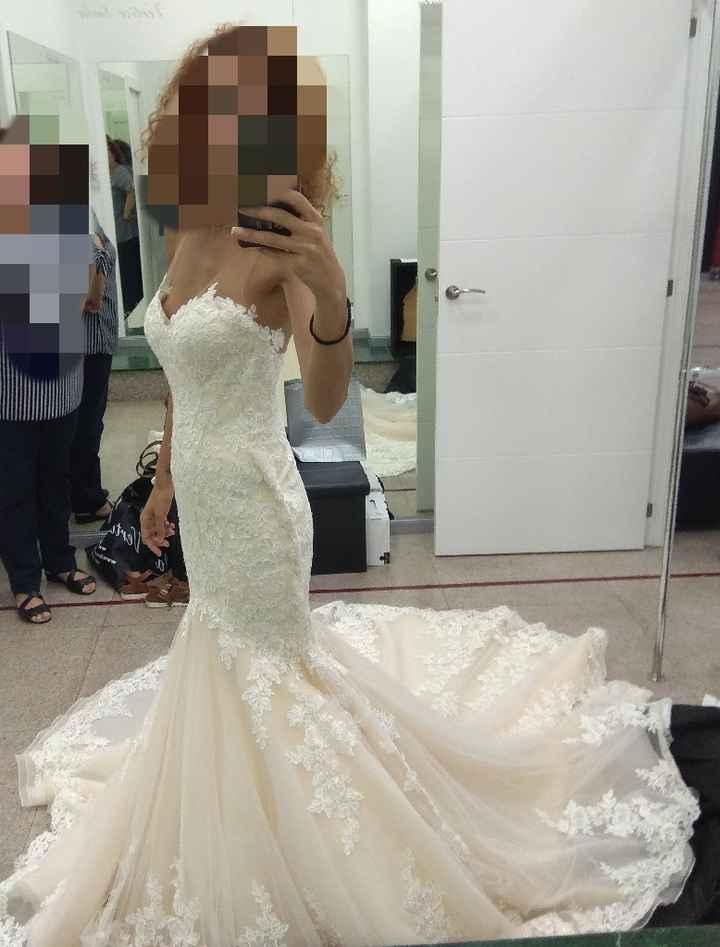 Mi primera prueba de vestido - 2