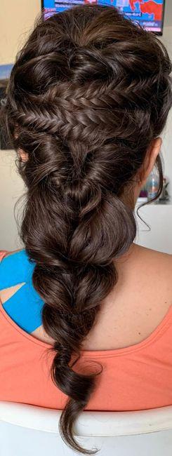 Primera prueba de peinado - 1