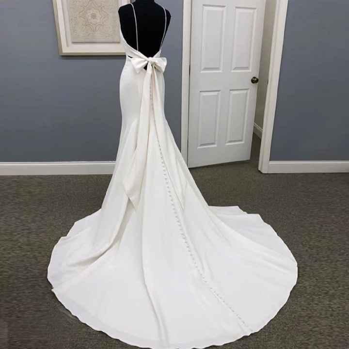 Segundo vestido de novia - 1
