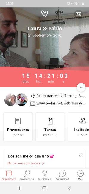a 15 dias de la boda!! - 1