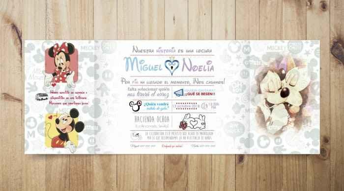 Invitaciones boda - 3