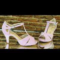 Primera prueba vestido y duda color zapatos - 1