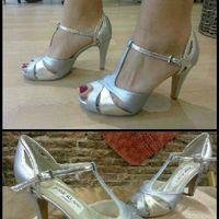 Primera prueba vestido y duda color zapatos - 2