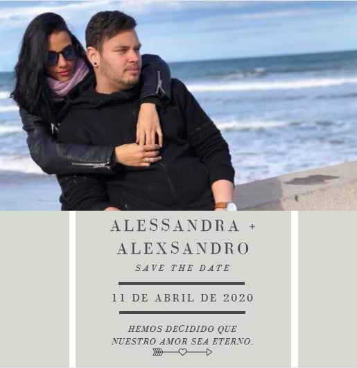 Nuestro Save the date