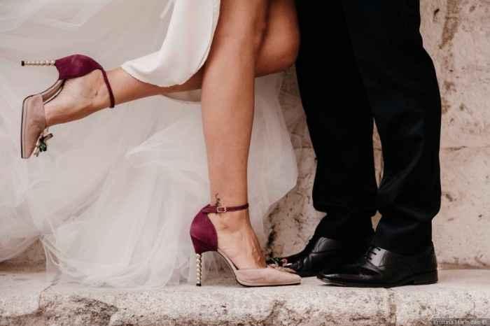 Estos son los zapatos