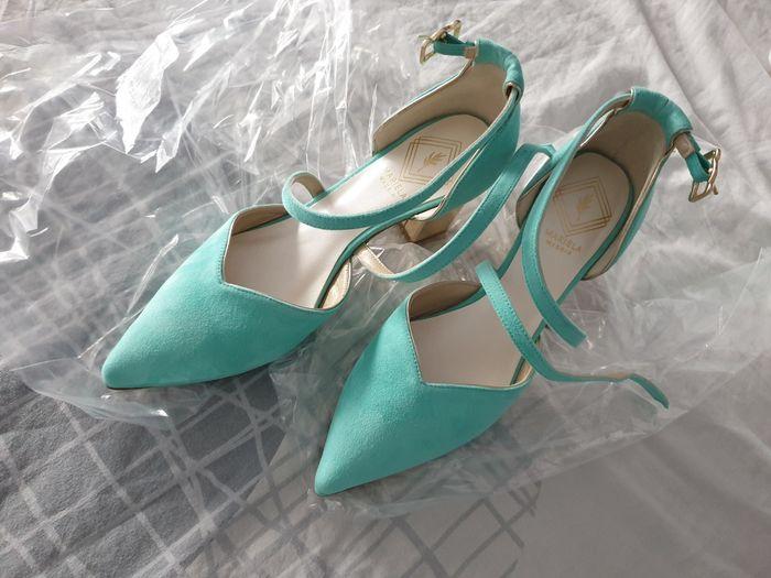 Zapatos novia en color 2