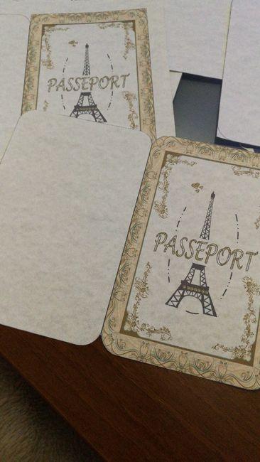 Pasaporte a París casero!! 4